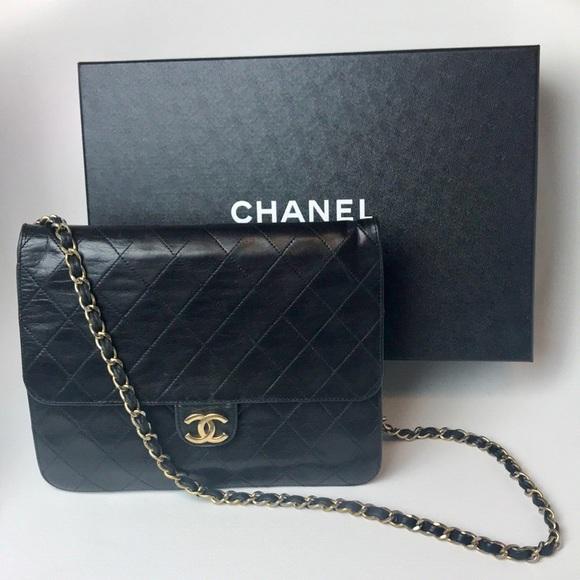 8159213002ff CHANEL Handbags - Vintage Chanel Flap Bag